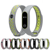 Mijobs Colorful Armband sport siliconen vervangende armband voor Xiaomi MiBand 2