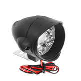 12V-80V 6 LED Front Headlights Strong Brightness Shark Shape Motorcycle Far Illumination