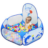 1.2M Baby Ball Pool Ocean Plastic Basketball Basket Portable Camping Indoor Kids Play Tent