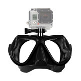 Camera Mount Diving Mask Oceanic Scuba Snorkel Lunettes de natation Goggles pour GoPro Action Camera
