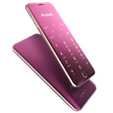 Anica A16 1.63 Inch 480mAh Touch Sensitive Keyboard Ultra Dunne Dubbele SIM Bluetooth Mini Card Phone
