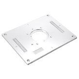 Drillpro 300x235x95mm Aluminium Router Tafel Insteekplaat Houtbewerking Trimmachine Flip Paneel voor Makita 3612