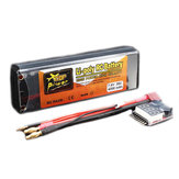 ZOP Power 7.4V 4200mAh 2S 35C Lipo Battery T Plug With Battery Alarm