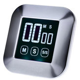 LCD Digital Touch Screen Kitchen Timer Practical Cooking Timer Countdown Count UP Alarm Clock