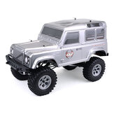 HSP 136100 Racing Cruiser 1/10 RC Coche Impermeable Eléctrico 4WD Off Road Rock High Speed ​​Hobby Crawler