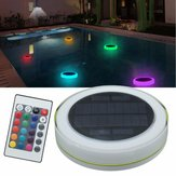 Solar Power RGB pod wodą LED Garden Pond Pool Floating Light