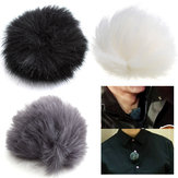 3 farver Fur Windscreedn Wind Shield Wind Muff til Lav Lavier Microphone Mic