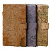 World Map PU Leather Wallet Case For Google Nexus 7 2nd Gen