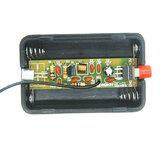 EQKIT® RF-01 DIY Drahtlose Mikrofonteile 5mA 70MHz FM Transmitter Produktion Satz Mit Antenne