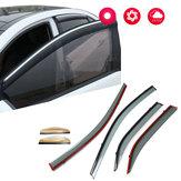 Fenstervisor-Regenschutz-Entlüftungs-Sonnenschutz-Windabweiser für Toyota Camry 2012-2016
