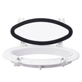 Open Portlight Window Port Hole Replacement Boat Marine Yacht Oval Tempered Glass