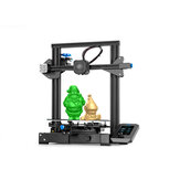 Creality 3D® Ender-3 V2 Kit stampante 3D fai-da-te aggiornato 220x220x250mm Dimensioni di stampa TMC2208 ultra silenzioso / Mainboard a 32 bit silenzioso / Piattaforma di vetro al carborundum / Alimentatore a pozzo medio / Nuovo supporto dello schermo a