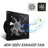 """Original 40W 6 """" Ventilador de escape 6 """" Ventilador Salida de aire de bajo ruido de pared Montado en la pared Ventilación"""