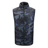 Original              Intelligent Heating Vest Jacket Men Women Winter Washable USB Electric Charging Warm Turtleneck For Camping Hiking Golf Cycling Outdoor Fishing