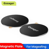 ESSAGER Magnetic Metal Plate Sticker For Magnet Wireless Charger Car Phone Holder Disk Iron Sheet for iPhone 12 Pro Max for iPhone 11 Pro XS
