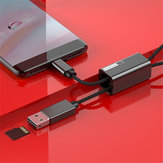 Baseus 2 in 1 Type-c OTG TF Memory Card Reader Fast Charge Data Transmission Cable for Xiaomi Tablet