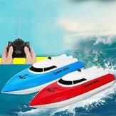 4CH Fernbedienung RC Rennboot Hochgeschwindigkeits-Elektrospielzeug für Lake Pool Kid Geschenk