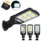 300W-650W IP65 LED Solar Farola PIR Motion Sensor Montado en la pared Lámpara Jardín