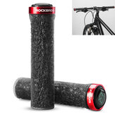 ROCKBROS Bicycle Handle Anti-Skid TPE Rubber Bicycle Grips Outdoor Camping Bike Handlebar Bike Accessiors