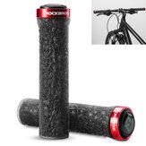 ROCKBROSManigliaperbiciclettaManopolein gomma antiscivolo in TPE per biciclette all'aperto campeggio Manubrio bici per bici Accessiors
