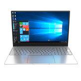CENAVA F158G 15,6 polegadas Intel i3-6157U 8 GB RAM 128 GB SSD 95% de razão Notebook de moldura estreita com iluminação traseira