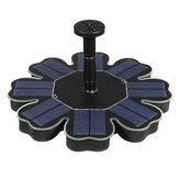 IP68 180L / H 1.4W Solar Powered Fountain Pump Kit Flydende Pools Have Damme Brushless Water