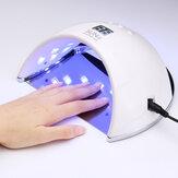 48 واط SUN6 LED UV مصباح مسمار ضوء هلام البولندية علاج مجفف الأظافر UV مصباح الاتحاد الأوروبي / US المكونات