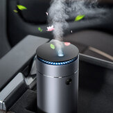 Baseus 75ml Air Humidifier Purifier USB Essential Oil Aroma Diffuser Fogger Mist Maker with LED Night Lamp for Car Office Home