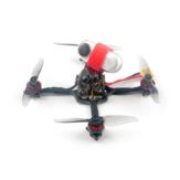 41g Happymodel Crux3 115mm CrazybeeX FR V2.2 F4 AIO ESC 25 / 200mW VTX 1-2S 3 pollici Stuzzicadenti FPV Racing Drone BNF w / 1202.5 Motore Caddx ANT 1200TVL Supporto fotocamera Insta360 Go