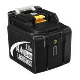 LED Light MAK-14.4B-Li 9.0Ah Strumento di sostituzione Batteria 14.4V Strumento per Makita BL1430 BL1440
