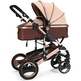 8 in 1 Baby Stroller Newborn Foldable Lightweight Soft Travel Stroller Pushchair Max Load 25g