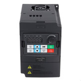 3HP 0.75kw/1.5kw/2.2kw Variable Frequency Drive Inverter VFD 3 Phase To 3 Phase VFD 380V
