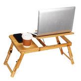 ソファベッドノートブックデスク用の調整可能なポータブルラップトップスタンドテーブルトレイ