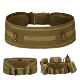 Protector Plus Molle Tactical Belt Nylon Belt Waist Holder Outdoor Sport Hunting Camping Military Waistband