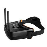 Eachine VR009 5.8G 40CH Doppia antenna con ricerca automatica mini FPV Occhiali 3.0 Pollici 480 * 320 LCD Schermo integrato Batteria per RC Drone Principiante