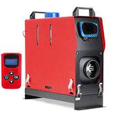 Termostato diesel do ar Aquecedor LCD de 1-8KW 12V para o caminhão do reboque RV da caravana