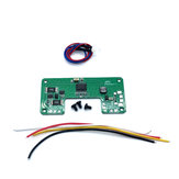 FullSpeed 5V 10W X-Charger Board for FrSky X-lite Radio Transmitter Built-in Charger Module 18500 18650 14500 Battery