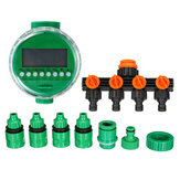 Automatic Water Garden Hose Watering Timer Drip Irrigation System Water Connector Distributor