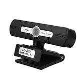 720P USB Bilgisayar Web Kamerası 30FPS Tam HD Web Kamera Dahili Mikrofon Taşınabilir PC Bilgisayar Dizüstü Masaüstü İçin