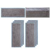 6 pièces de remplacement de vêtements de vadrouille humide pour Braava Jet M6 accessoires de pièces d'aspirateur [non original]