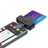 Rocketek CSCR3 USB Tip-c Akıllı Kart Okuyucu Bellek KIMLIK Bankası EMV elektronik DNIE DNI SIM Cloner Konektör Adaptörü Android Telefonlar