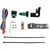 Czarny / biały / przezroczysty 3D automatyczny czujnik poziomowania łóżka moduł dotykowy + tablica informacyjna ISP + zestaw palnika z kablami do drukarki 3D Creality CR-10/Ender-3