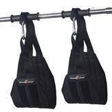 KALOAD Heavy Duty Abdominal Training Hanging Cinturón Aptitud Abs Sling Straps Barra de dominadas Pullup Soporte de entrenamiento muscular Cinturón
