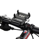 GUB Pro7 Universal Ao Ar Livre Vlog de Gravação de Liga de Alumínio MTB Motocicleta Bicicleta de Estrada Guidão de Bicicleta GPS Suporte do telefone móvel Suporte com Silicone Banda para dispositivos de largura de 55-100mm