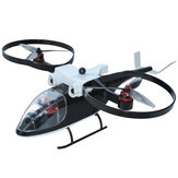 KY-Z2 6CH Two-axis Brushless Helicopter RTF Support GPS Return One Key Take Off