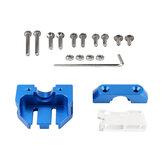 Dotbit® Ekstrüzyon Başlığı Montaj Bloğu Çoklu Braket 3D Yazıcı Parçası için V6 Volkan Kiti ile uyumlu Ender-3 / CR-10