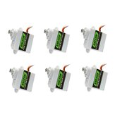 6pcs VOTIK 7350 MG-D 5g Digital Servo Metal Gear For EPP E3P Airplane Indoors Mini RC Aircraft Helicopter