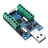 USB Interface 10 Channel 12Bit AD Sampling Data Acquisition STM32 UART Communication ADC Module