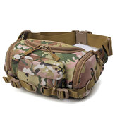 Uomini Nylon Outdoor Tactical Sling tattico Borsa petto Borsa vita Borsa crossbody Borsa