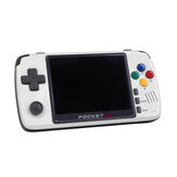 Pocket Go V2 32GB Upgraded Retro Video Game Console 3.5 Inches IPS Screen Portable Handheld Game Player PS1 SNES NPG